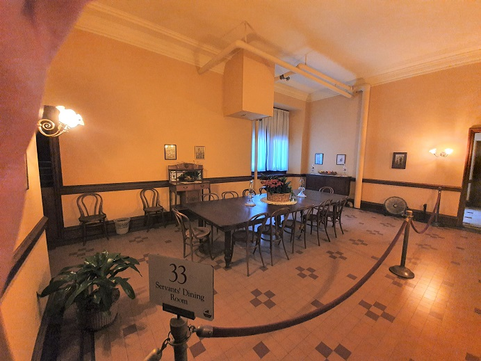 Biltmore_House_Servants_Dinning_Room